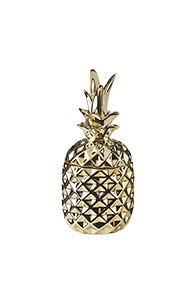 Lorraine Kelly Gold Pineapple Trinket Pot
