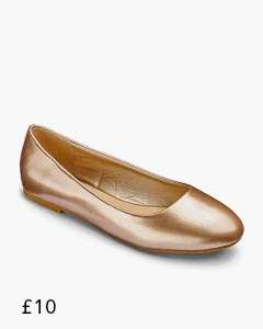 Heavenly Soles Ballerina Shoes Standard D Fit