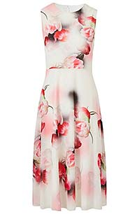 Lorraine Kelly Chiffron Tea Dress