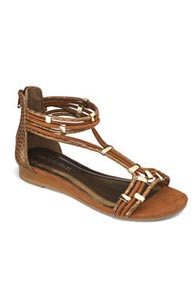 Strappy Sandals (Tan)