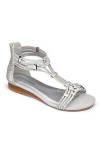 Strappy Sandals (Silver)