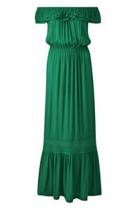 Joanna Hope Green Maxi Dress