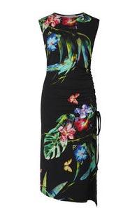 Black Tropics Dress