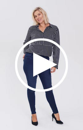 Amber jegging jeans video