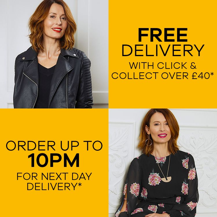 Free Delivery with click and collect over £40* | Order up to 10pm for next day delivery*