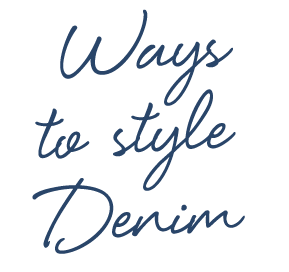 Ways to Wear Denim