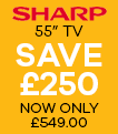 Sharp TV Save £250
