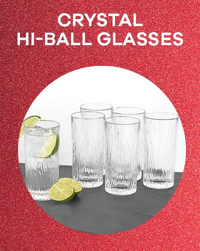 Crystal Hi-ball Glasses