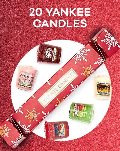 20 Yankee Candles