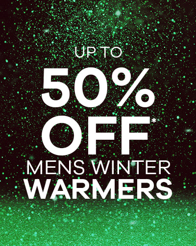 up to 50% Off Mens Winter Warmers