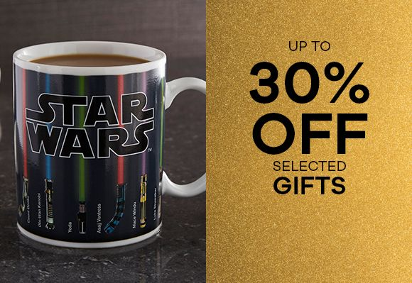 up to 30% of Gifts