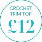Crochet Trim Top