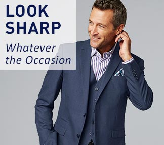 Look Sharp Whatever the Occasion