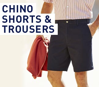 Chinos Shorts & Trousers