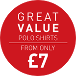 Great Value Polo Shirts - From Only £7