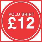 Polo Shirt £12