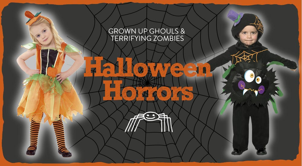 Grown up ghouls & terrifying zombies - Halloween Horrors