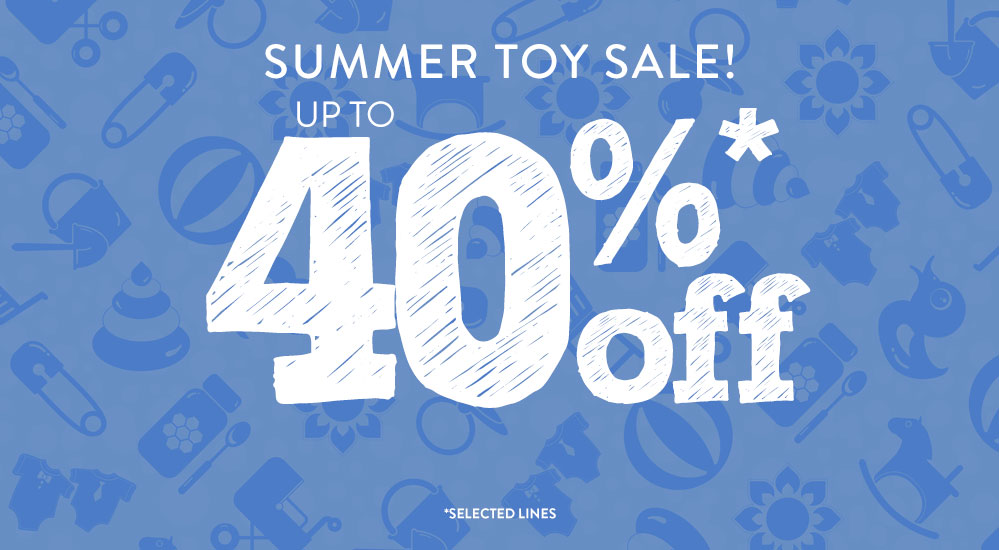 Summer Toy Sale - 40% Off