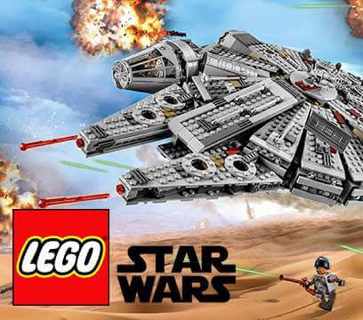 Character Shop lEGO Star wars Millenium Falcon