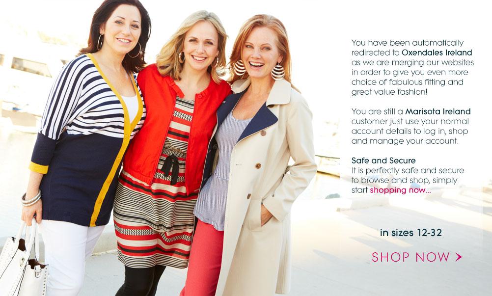 Shop new season styles in sizes 12-32