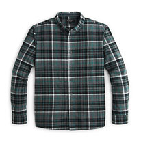 Green Grey Check Shirt