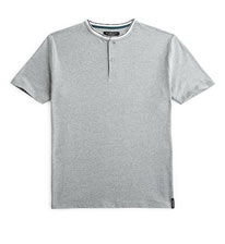 Grey Grandad Shirt