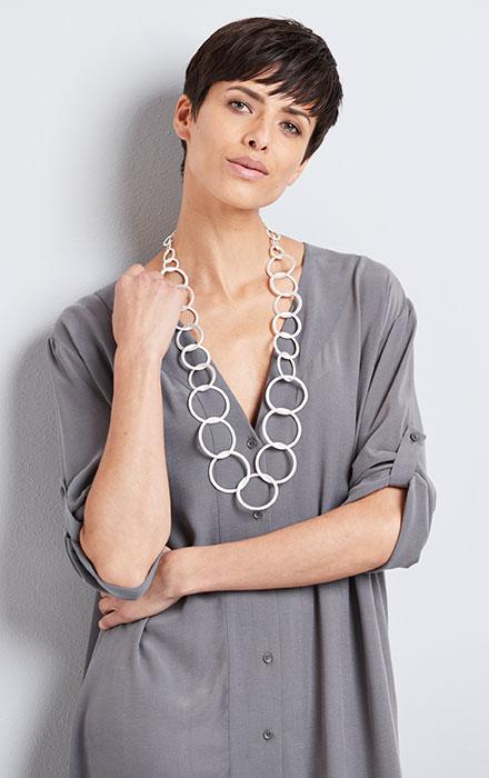 Convertible Maxi Shirt Dress