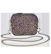 Mini Glitter Shoulder Bag