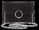 Sophie Red Ring Clutch Detail Bag