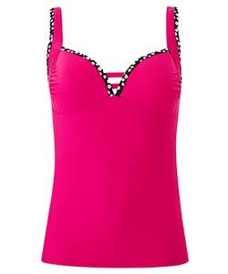 Pink Tankini Top