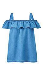 Blue Denim Top