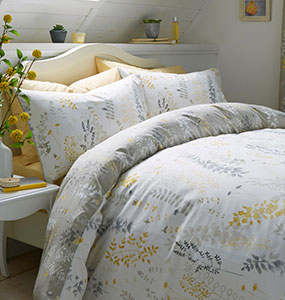 Haze Yellow Bedding Collection