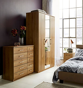 Riga Oak Bedroom Collection