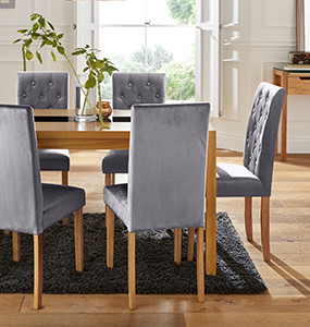Oakham Glass Dining Collection