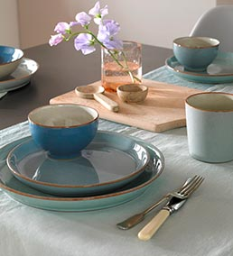 Dining room tableware