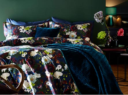 Floral Enchantment trend bedding