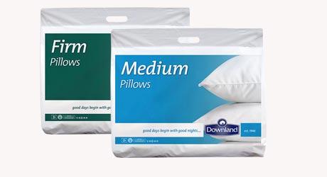 Firm Medium Soft Pillows