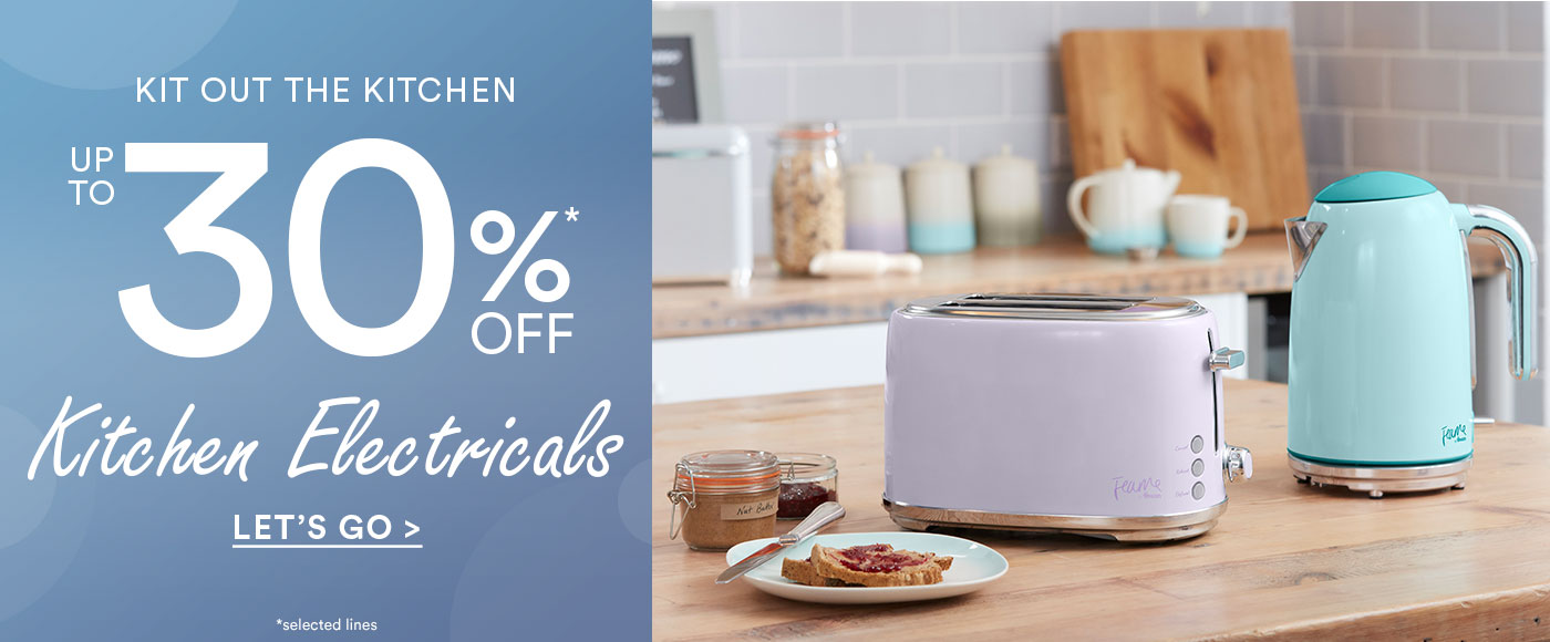 Up to 30% off Kitchen Electricals