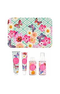 Accessorize Refreshing Travel Tin Gift Set - Lychee Sorbet