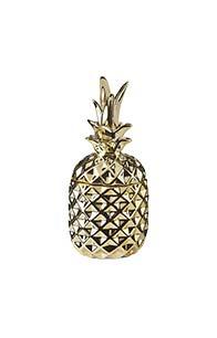 Lorraine Kelly Gold Pineapple Trinket Pot