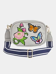 Dixie Embroidered Across Body Bag