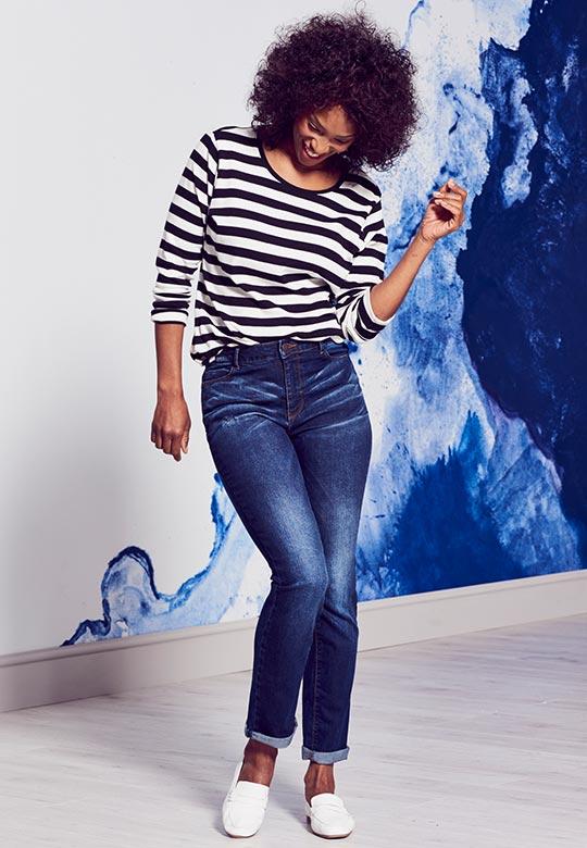 Bridget straight jeans