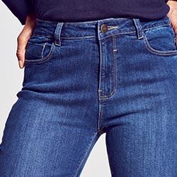 Everyday skinny jeans waist