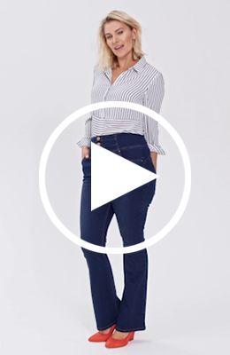 shape fit jeans video