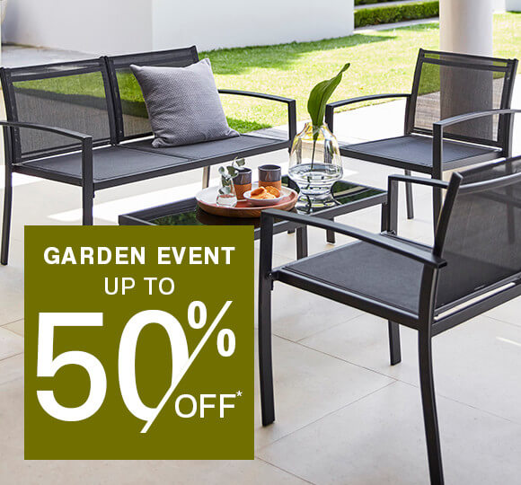Garden Event up to 50% Off