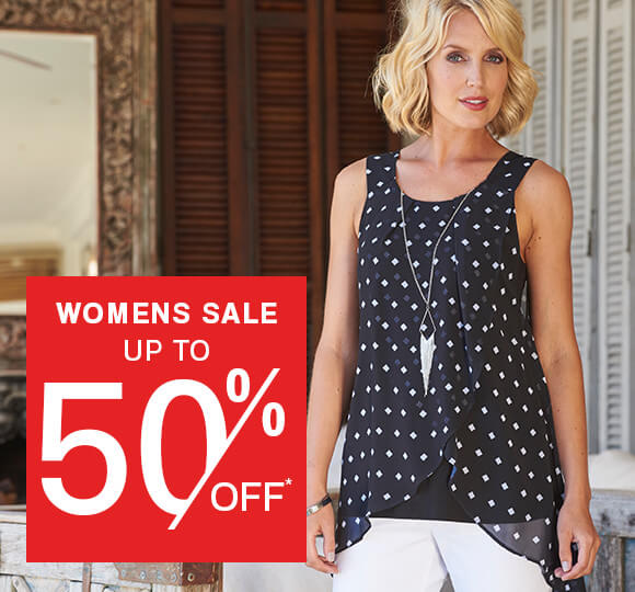 Womens Sale up to 50% Off