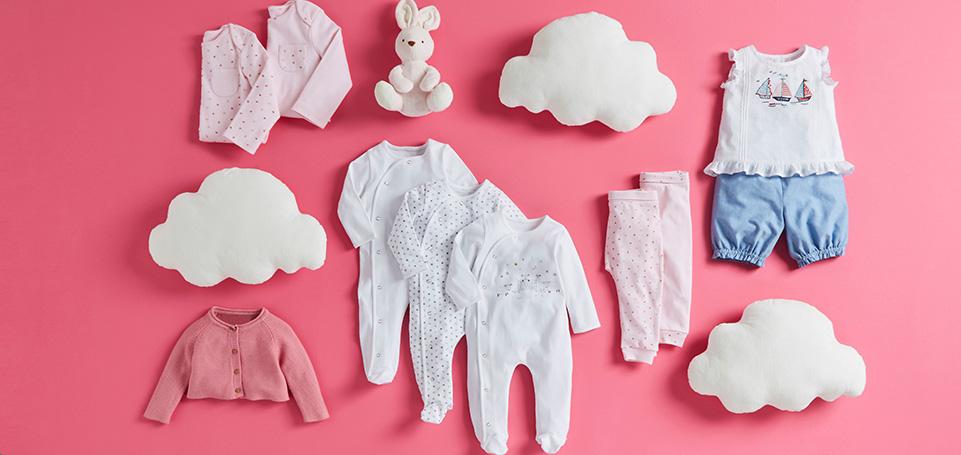 Baby's first wardrobe